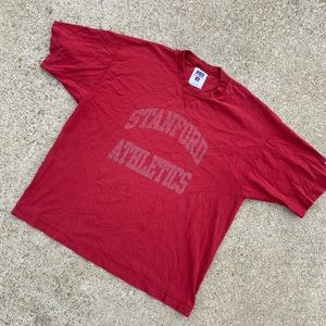 Vintage 90's Stanford Athletics Russell Shirt